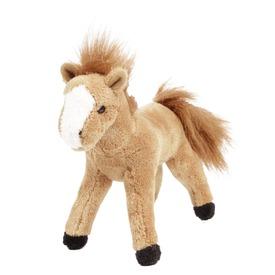 Ló álló plüssfigura - 18 cm, többféle