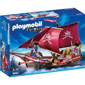 Playmobil Katonák őrhajója 6681