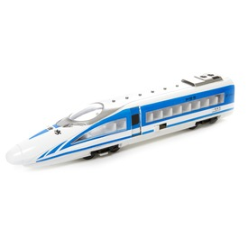 Hátrahúzós fém vonat