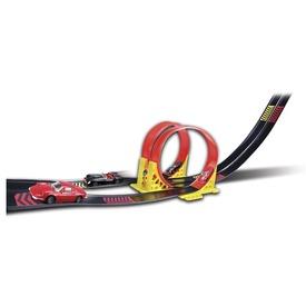 Bburago Ferrari Dual Loop autópálya +2 db kisautó 1:24
