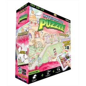 Hercegnők 150 darabos interaktív puzzle