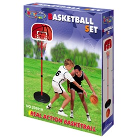 Kosárlabda palánk készlet labdával