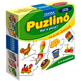 Granna - Puzzlinó Hol a párja - Első játékaim sor Itt egy ajánlat található, a bővebben gombra kattintva, további információkat talál a termékről.