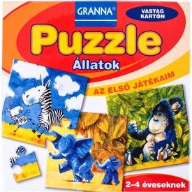 Az első játékaim - Puzzle Állatok Itt egy ajánlat található, a bővebben gombra kattintva, további információkat talál a termékről.