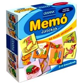 Granna - Memó Játékok - Első játékaim sorozat Itt egy ajánlat található, a bővebben gombra kattintva, további információkat talál a termékről.