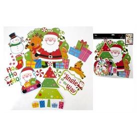 Karácsonyi dekoráció 12 darabos készlet