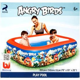 Angry Birds felfújható medence 201 x 150 x 51cm.  Itt egy ajánlat található, a bővebben gombra kattintva, további információkat talál a termékről.
