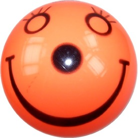 Mosolygó lakkfényű gumilabda - narancssárga, 11 cm Itt egy ajánlat található, a bővebben gombra kattintva, további információkat talál a termékről.