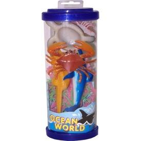 Műanyag tengeri állatok hengerben - 21 cm, többféle Itt egy ajánlat található, a bővebben gombra kattintva, további információkat talál a termékről.