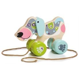 Húzható kutya fajáték Itt egy ajánlat található, a bővebben gombra kattintva, további információkat talál a termékről.