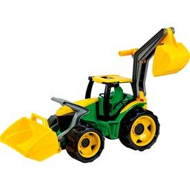 Műanyag traktor markolóval és rakodóval - 107 cm Itt egy ajánlat található, a bővebben gombra kattintva, további információkat talál a termékről.