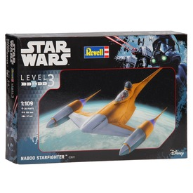 Star Wars: Naboo Starfighter makett - 1:109