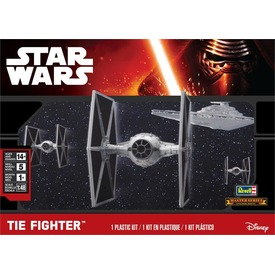 Star Wars: TIE Fighter makett - 1:48
