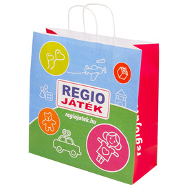 REGIO JÁTÉK ajándéktáska - kicsi Itt egy ajánlat található, a bővebben gombra kattintva, további információkat talál a termékről.