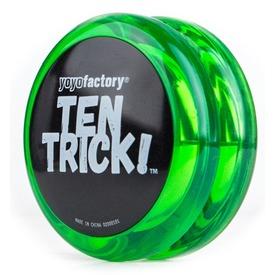 Ten Trick yo-yo - zöld Itt egy ajánlat található, a bővebben gombra kattintva, további információkat talál a termékről.