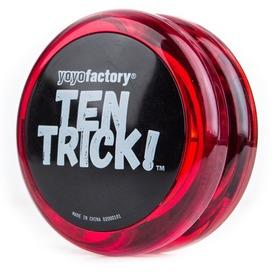 Ten Trick yo-yo - piros Itt egy ajánlat található, a bővebben gombra kattintva, további információkat talál a termékről.
