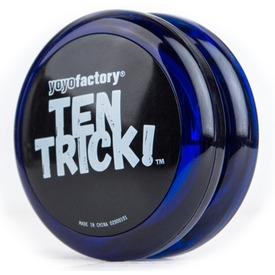 Ten Trick yo-yo - kék Itt egy ajánlat található, a bővebben gombra kattintva, további információkat talál a termékről.