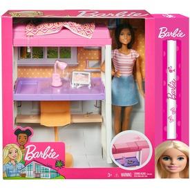 Barbie: szoba babával - többféle