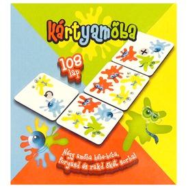Kártyamőba - Négyet egy sorba, trükkösen 108lap Itt egy ajánlat található, a bővebben gombra kattintva, további információkat talál a termékről.