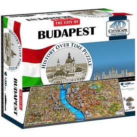 4D Budapest puzzle 1200db