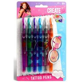 Illatos tetováló toll 6 db