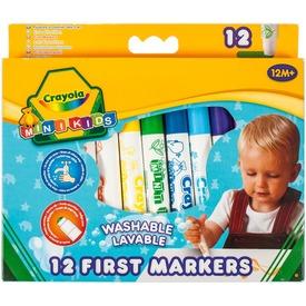 Crayola: Mini Kids tompa hegyű filctoll 12 darabos készlet Itt egy ajánlat található, a bővebben gombra kattintva, további információkat talál a termékről.