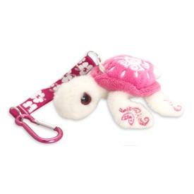 Plüss teknős, 11 cm, kulcstartó, többféle