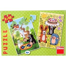Kisvakond és a torta 2 x 48 darabos puzzle