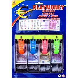 Euro játékpénz kasszafiókkal 120 darabos készlet Itt egy ajánlat található, a bővebben gombra kattintva, további információkat talál a termékről.
