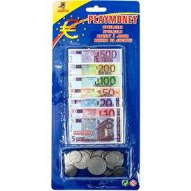 Euró játékpénz készlet