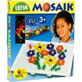 Mozaik 100 darabos képkirakó - 10 mm, színes