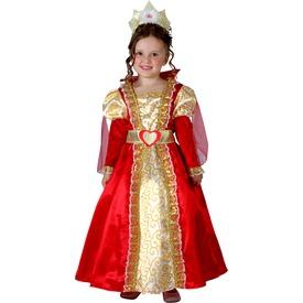Királynő gyerekjelmez - 92-104 cm