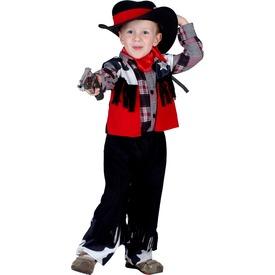 Cowboy gyerekjelmez - 92-104-es méret