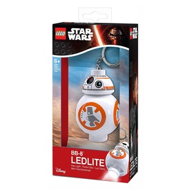 LEGO Star Wars BB-8 droid LED kulcstartó