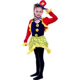 Bohóclány gyerekjelmez - 120-130-as méret