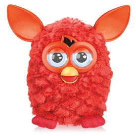 Interaktív beszélő Furby Hot meleg színekben