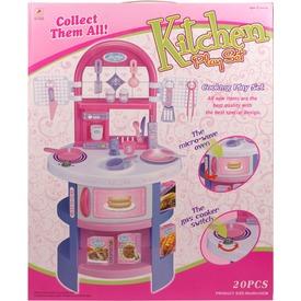 Játékkonyha 19 kiegészítővel - rózsaszín Itt egy ajánlat található, a bővebben gombra kattintva, további információkat talál a termékről.