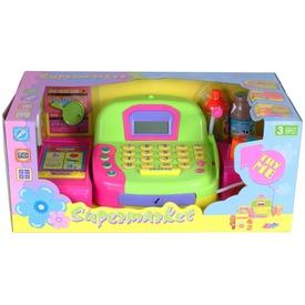 Multifunkciós játék pénztárgép mikrofonnal kiegészítőkkel Itt egy ajánlat található, a bővebben gombra kattintva, további információkat talál a termékről.