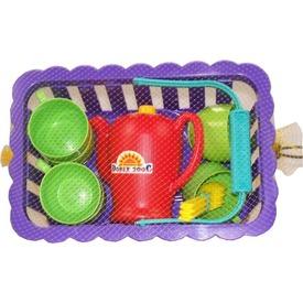 Piknik edénykészlet kosárban