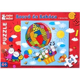 Bogyó és Babóca Léghajó 64 darabos puzzle Itt egy ajánlat található, a bővebben gombra kattintva, további információkat talál a termékről.
