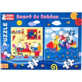 Bogyó és Babóca Szivárványhal 12 és 20 darabos puzzle Itt egy ajánlat található, a bővebben gombra kattintva, további információkat talál a termékről.