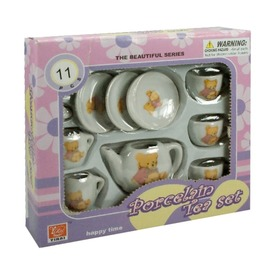 Macis porcelán 11 darabos teáskészlet