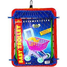 Bevásárló kocsi babaültetővel - 60 cm Itt egy ajánlat található, a bővebben gombra kattintva, további információkat talál a termékről.