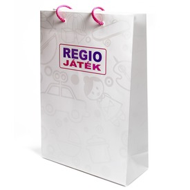 REGIO ajándéktáska elegáns mintával - 23 x 35 cm