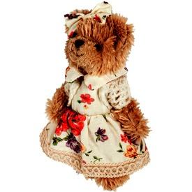 Macilány plüssfigura virágmintás ruhában - 15 cm Itt egy ajánlat található, a bővebben gombra kattintva, további információkat talál a termékről.