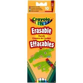 Crayola radírvégű színes ceruza 10 darabos készlet
