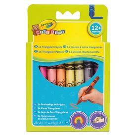 Crayola: 16 darabos háromszög zsírkréta készlet