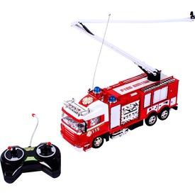 Távirányítós tűzoltóautó kormánnyal - 32 cm