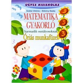 Matematika gyakorló óriás munkafüzet 3. oszt Itt egy ajánlat található, a bővebben gombra kattintva, további információkat talál a termékről.
