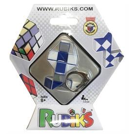 Rubik kígyó kulcstartó logikai játék